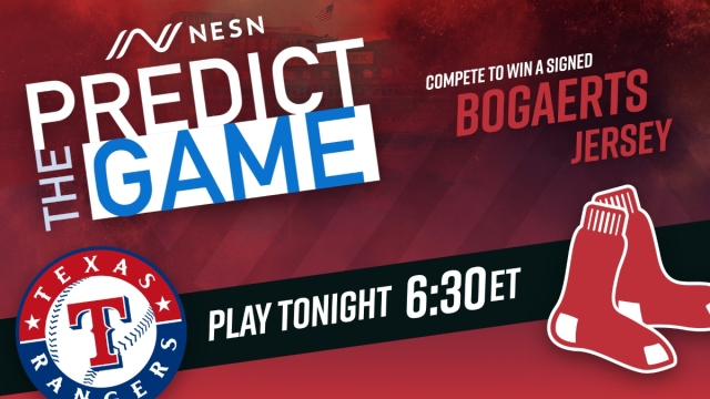 Red Sox vs. Rangers 'Predict The Game'