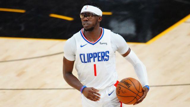 NBA guard Reggie Jackson