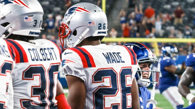 New England Patriots cornerback Shaun Wade