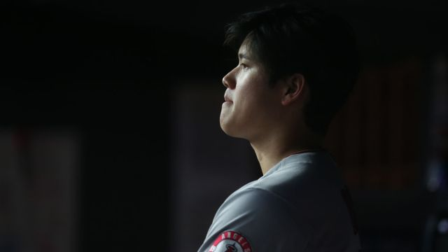 Los Angeles Angels designated hitter/pitcher Shohei Ohtani
