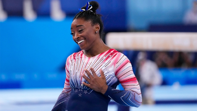 USA gymnast Simone Biles