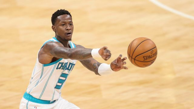 Charlotte Hornets guard Terry Rozier