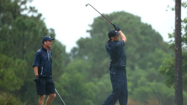 Peyton Manning and Tom Brady At The Match-Champions for Charity