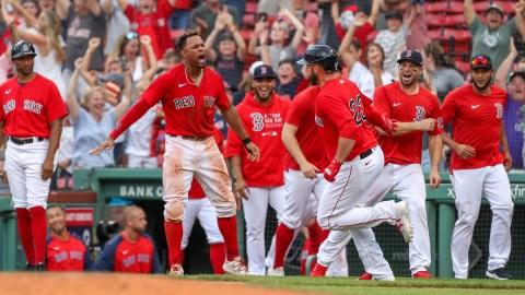 Boston Red Sox first baseman Travis Shaw