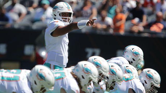 Miami Dolphins quarterback Tua Tagovailoa