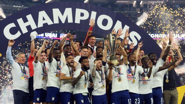 USMNT Celebrates Gold Cup Championship