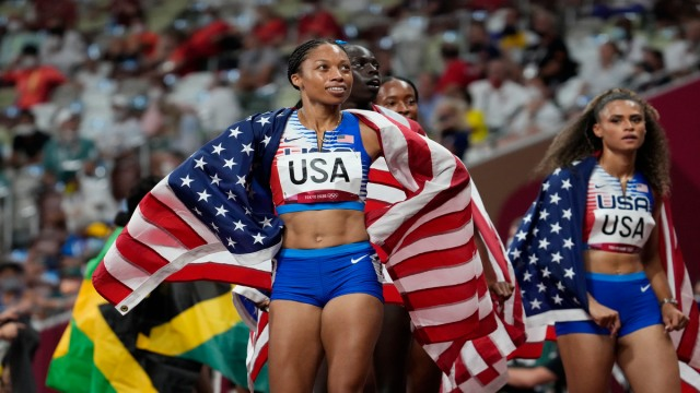 USA Track And Field Athlete Allyson Felix
