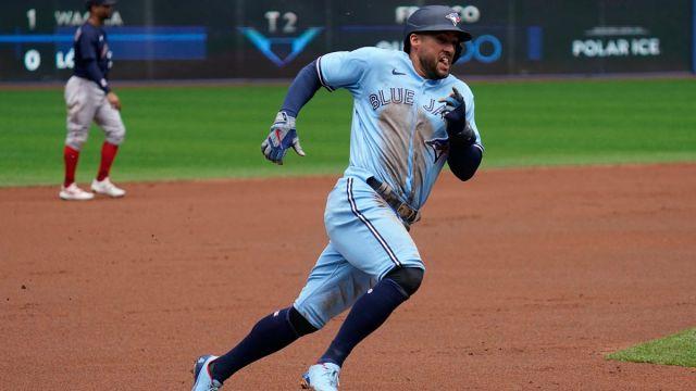 Toronto Blue Jays center fielder George Springer