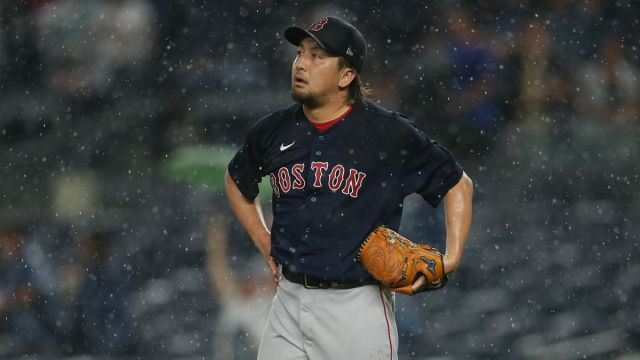 Boston Red Sox reliever Hirokazu Sawamura