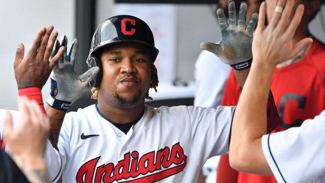 Cleveland Indians third baseman Jose Ramirez