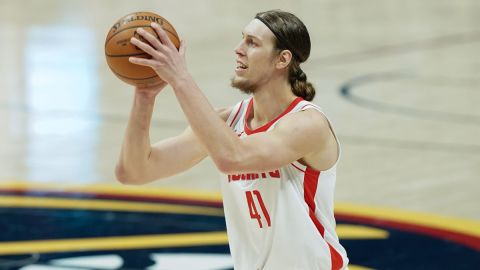 Detroit Pistons forward Kelly Olynyk