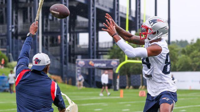 New England Patriots receiver Kendrick Bourne