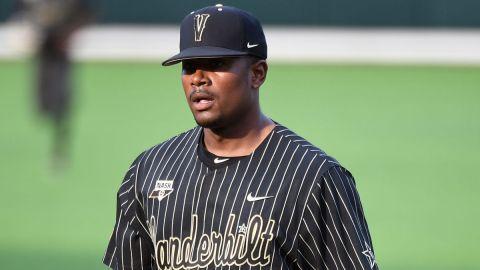 Vanderbilt pitcher Kumar Rocker