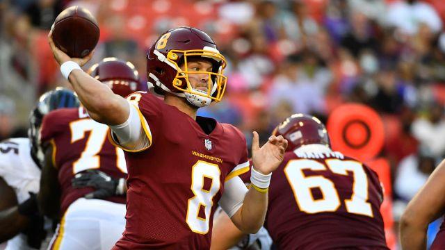 Washington Football Team quarterback Kyle Allen