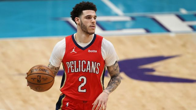 NBA guard Lonzo Ball