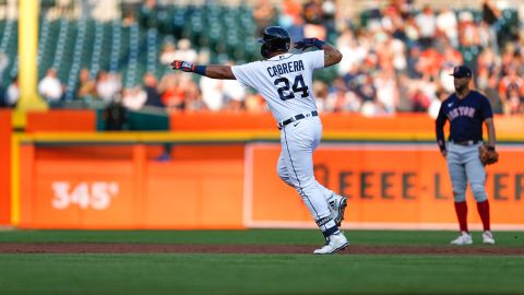 Detroit Tigers designated hitter Miguel Cabrera