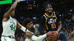 Utah Jazz guard Mike Conley