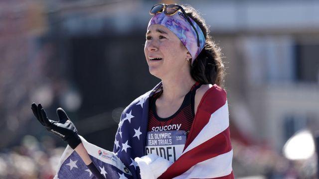Team USA runner Molly Seidel