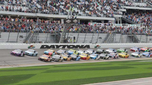 NASCAR drivers at Daytona International Speedway