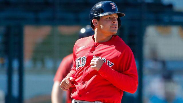 Boston Red Sox infielder Nick Yorke