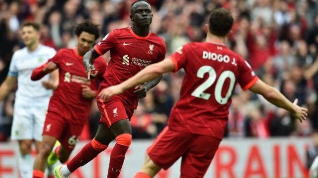Liverpool wing Sadio Mane