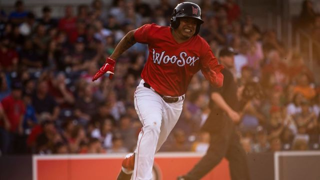 Worcester Red Sox utilityman Yairo Munoz