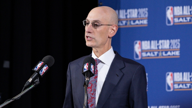 National Basketball Association commissioner Adam Silver
