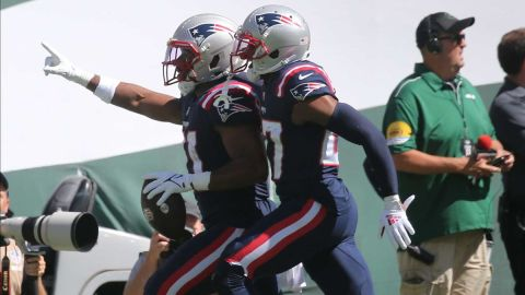 New England Patriots safety Adrian Phillips