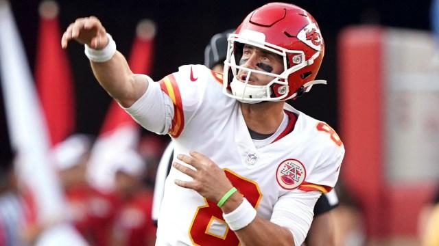 Kansas City Chiefs quarterback Anthony Gordon