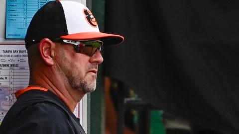 Baltimore Orioles manager Brandon Hyde