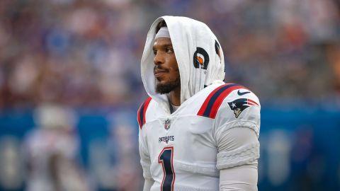 NFL: Cam Newton New England Patriots at New York Giants