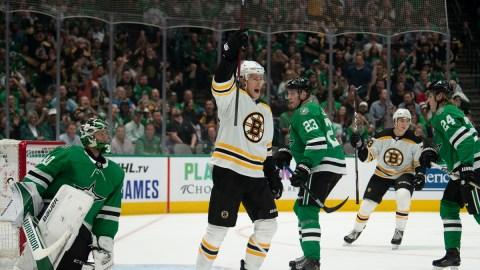 Boston Bruins Center Charlie Coyle