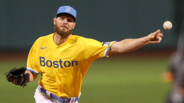 Boston Red Sox Left-Handed Pitcher Chris Sale