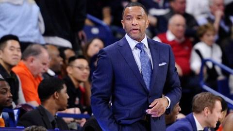 Boston Celtics assistant coach Damon Stoudamire