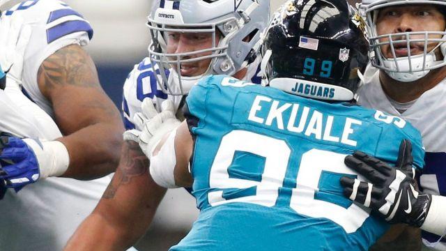 New England Patriots practice squad DL Daniel Ekuale