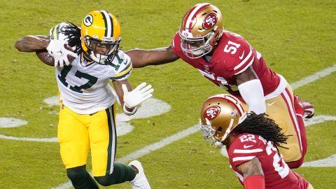 Green Bay Packers receiver Davante Adams
