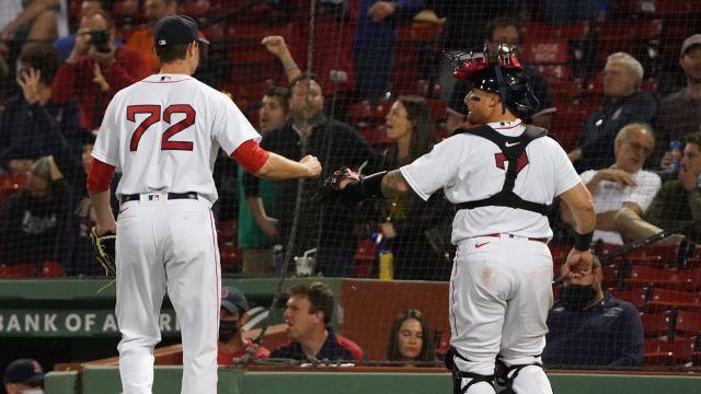 Boston Red Sox pitcher Garrett Whitlock