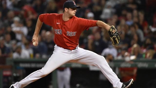 Boston Red Sox relief pitcher Garrett Whitlock