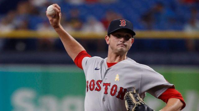Boston Red Sox reliever Garrett Whitlock