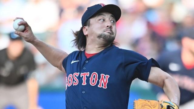 Boston Red Sox Pitcher Hiroazu Sawamura