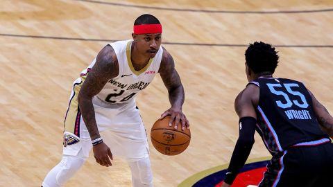 NBA guard Isaiah Thomas