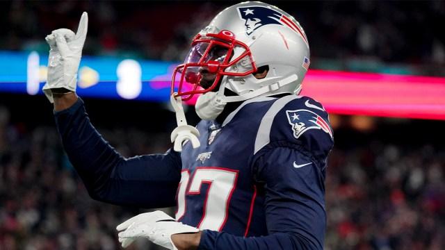 New England Patriots cornerback J.C. Jackson