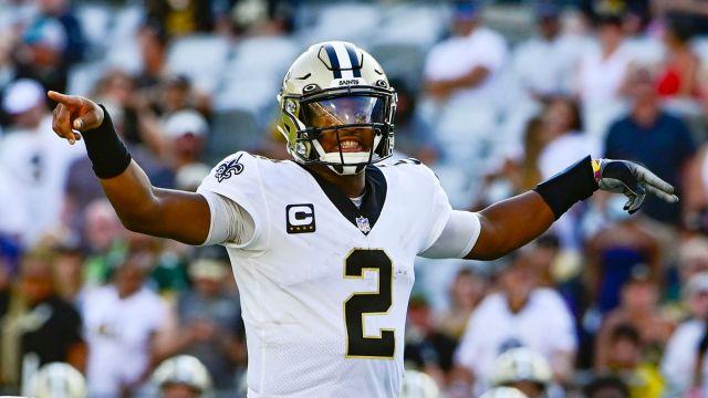 New Orleans Saints quarterback Jameis Winston