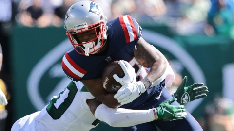 New England Patriots running back James White