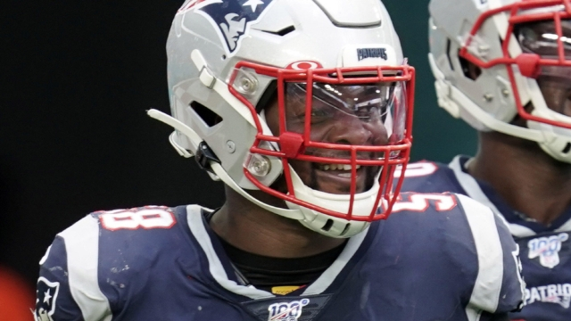New England Patriots outside linebacker Jamie Collins