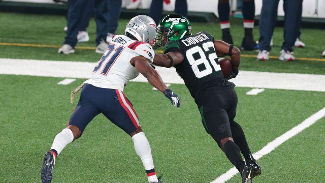 Jets wide receiver Jamison Crowder