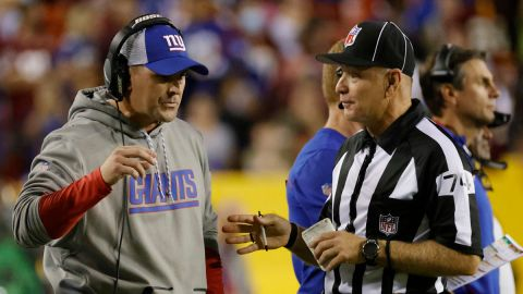 New York Giants head coach Joe Judge