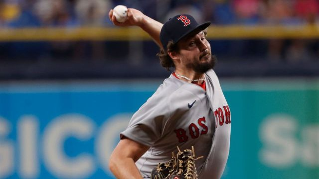Boston Red Sox reliever Josh Taylor