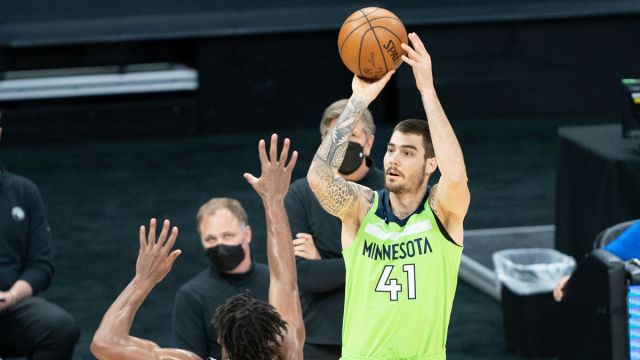 Boston Celtics Guard Juancho Hernangomez