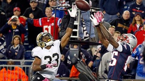 New England Patriots wide receiver Kenbrell Thompkins
